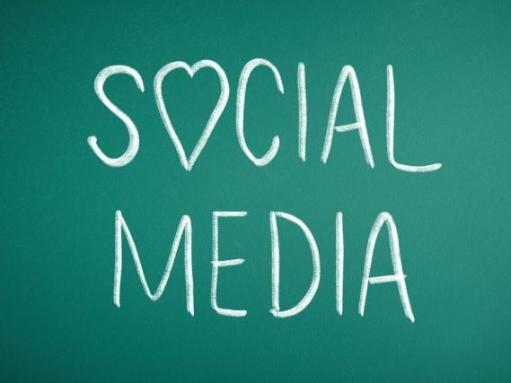 Social Mediaの文字